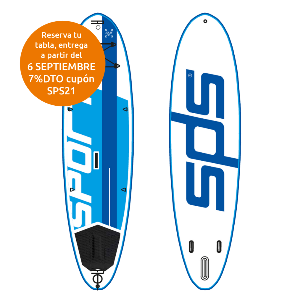 """SPORT 10'2×34""""x5"""" paddle sup"""