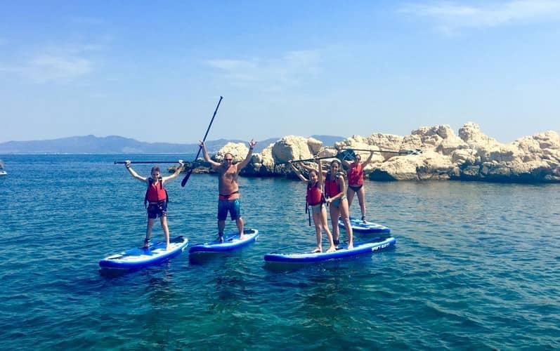 The Paddle Point organizan eventos de SUP para grupos y empresas