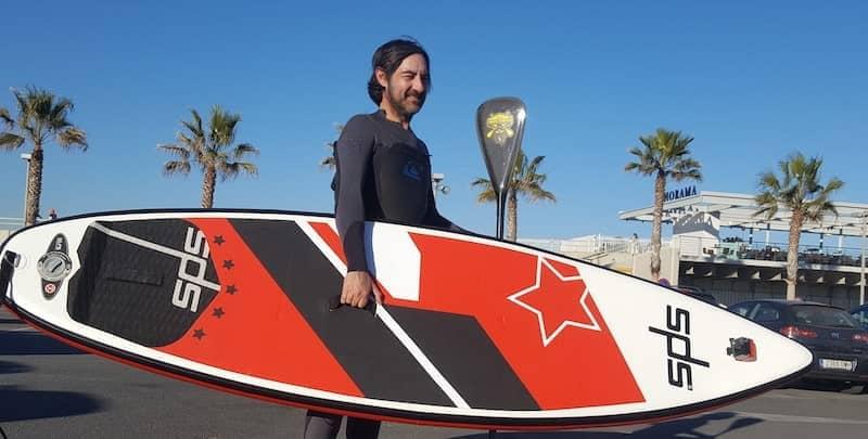 La mejor tabla de paddle surf hinchable 2019 SPS WAVE 150 Litros