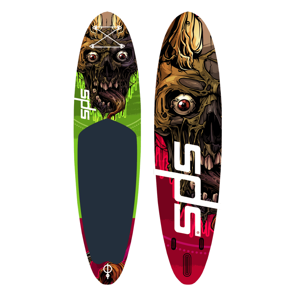 Tabla de paddle sup de diseño Skull Limited edition